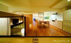 极致简约日式风格一居室装修效果图