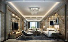 最新精致奢华的简欧风格三居室装修效