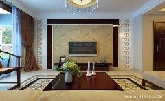 低调舒适的高雅新中式风格客餐厅装修