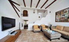 纯净白色不一样的地中海风格别墅装修