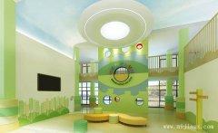 清新舒适的大方幼儿园装修效果图