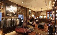 环境幽雅的复古服装专卖店铺装修效果