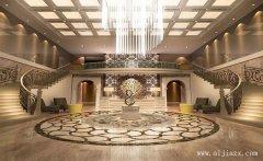 郑州低调奢华的酒店装修效果图