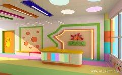 色彩缤纷的舒适幼儿园装修效果图