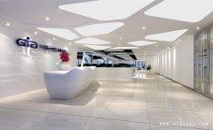 环境舒适的流行创意办公室装修效果图