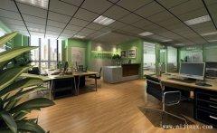 简洁大气的舒适办公室装修效果图