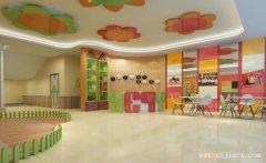 舒适幽美的童趣幼儿园装修效果图