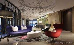 艺术格调十足的人性化酒店装修效果图