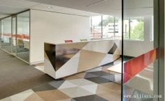 整洁大方的纯净现代简约风格办公室装