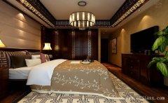 典雅舒适大气中式风格家装卧室装修效