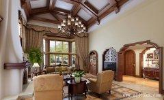 大气幽雅的奢华欧式风格别墅装修效果