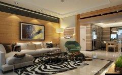 郑州现代简约风格三居室装修效果图