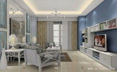 郑州纯净现代简约风格两居室装修效果
