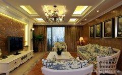 奢华富丽的流行简约欧式风格客厅装修