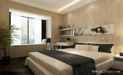 郑州jijianzhu义的自然现代风格wo室装修