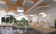 郑州简约风格图书馆装修设计效果图
