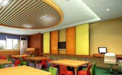 郑州国际幼儿园装修设计效guo