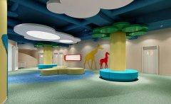 郑州幼儿园儿童室内游乐场装修效果图