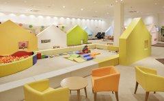 郑州幼儿培训中心装修设计-早教中心装修设计注