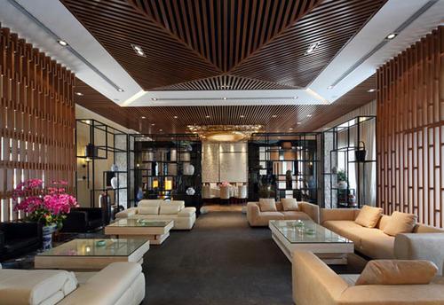 郑州200多ping的新中式私人会所zhuang修设计效果