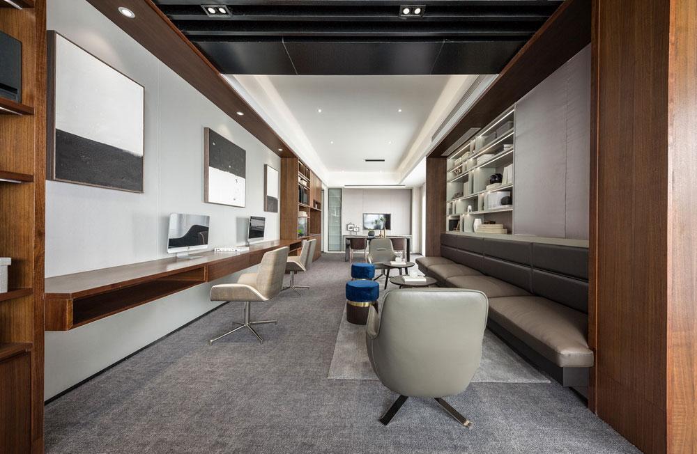 郑州金水区海洋集团办公室装修设计案例