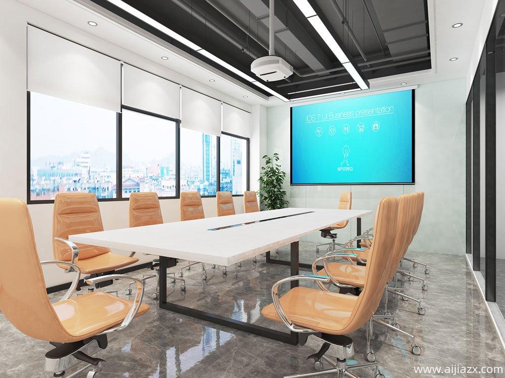 郑州高新区美立方办公室装修设计案例
