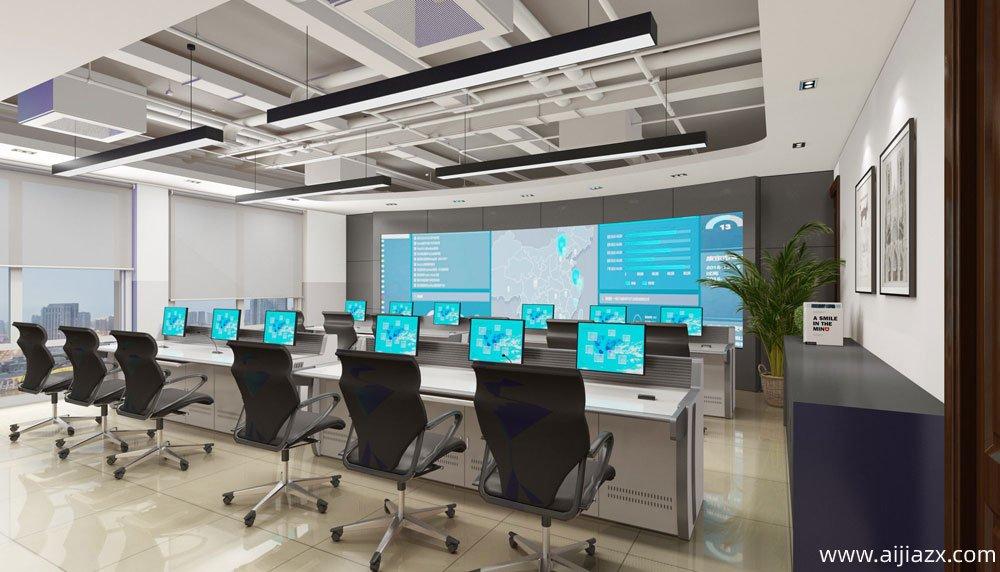 郑州航空港区联创集团办公室装修设计