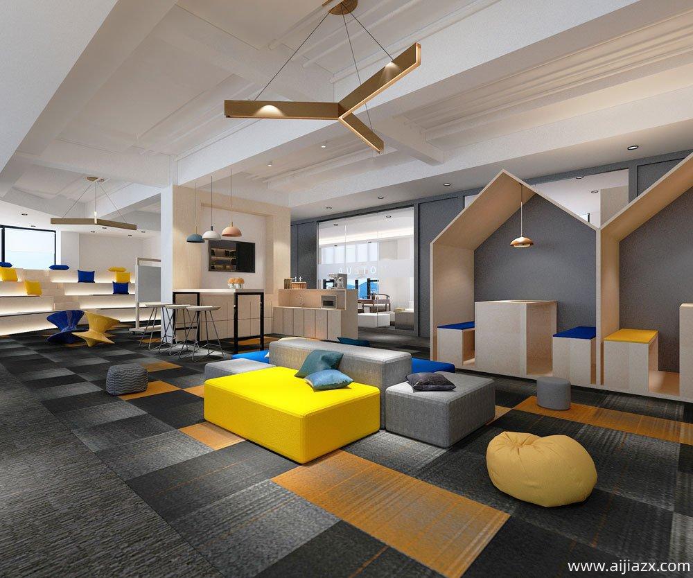 郑州中易奥斯顿办公室设计装修案例