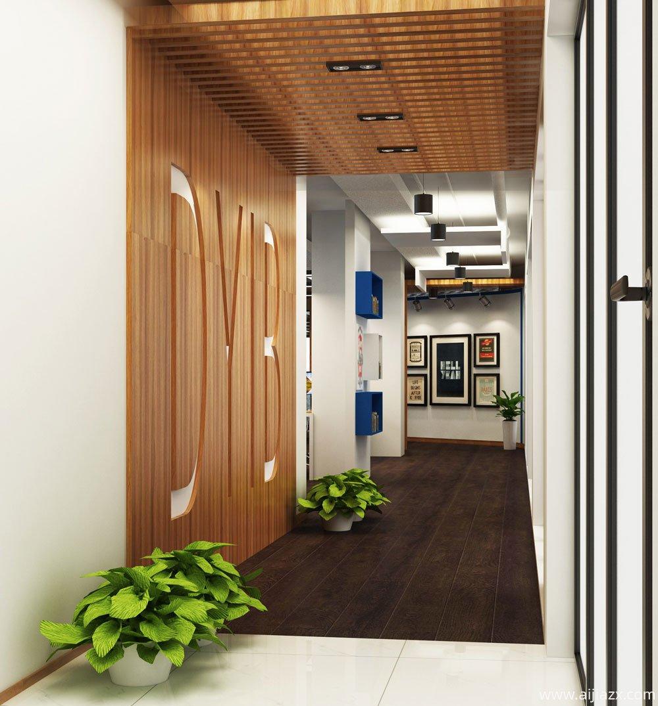 郑州金水区800平方米办公室设计装修案例