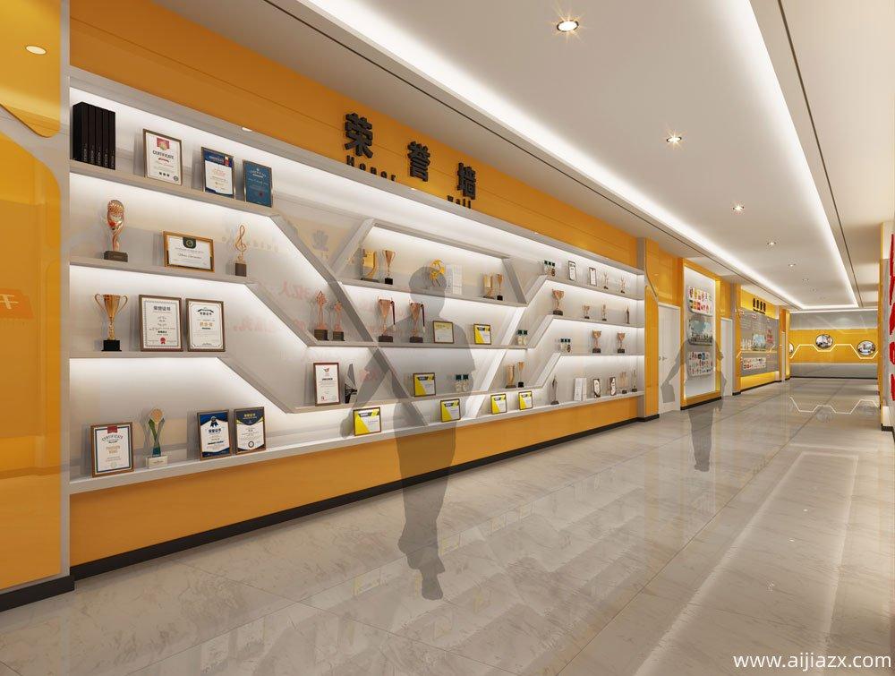郑州千味央厨食品展厅设计装修效果图