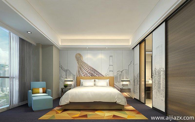 快捷酒店设计之室内台阶设计