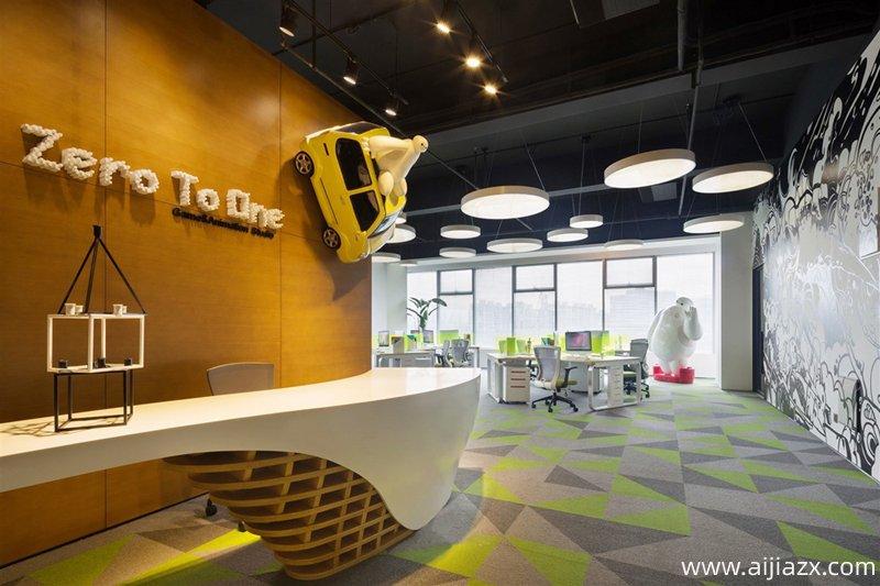 郑州办公室装修,室内照明设计