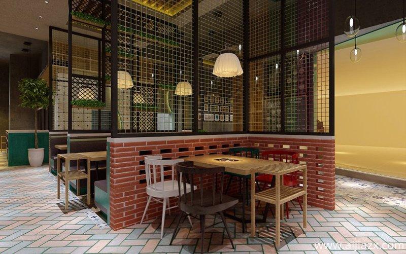 西餐厅设计中色彩运用原则